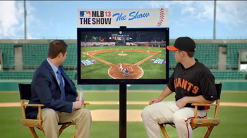 MLB 13: The Show TV Spot Featuring Buster Posey - 225 commercial airings