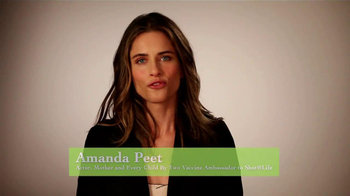 United Nations TV Spot, 'Shot at Life' Featuring Amanda Peet - 10 commercial airings