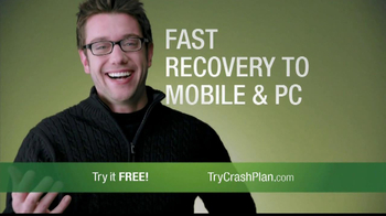 CrashPlan TV Spot, 'Happy' - Thumbnail 9
