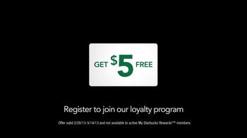 Starbucks Gift Card TV Spot, 'Get $5 Free' - Thumbnail 5