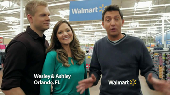 Walmart TV Spot, 'Tax Refund Time with Wesley and Ashley' - 133 commercial airings