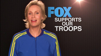 FOX TV Spot, 'Support Our Troops' Feat. Lea Michele, Naya Rivera - Thumbnail 7