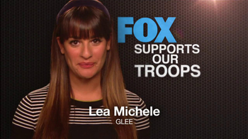 FOX TV Spot, 'Support Our Troops' Feat. Lea Michele, Naya Rivera - Thumbnail 2
