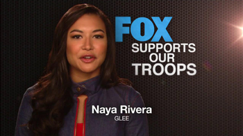 FOX TV Spot, \'Support Our Troops\' Feat. Lea Michele, Naya Rivera