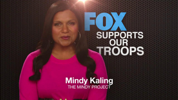 FOX TV Spot, 'Support Our Troops' Feat. Lea Michele, Naya Rivera - Thumbnail 4