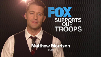 FOX TV Spot, 'Support Our Troops' Feat. Lea Michele, Naya Rivera - Thumbnail 6