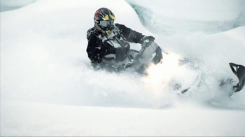 2014 Ski-Doo Summit TV Spot, 'Mountains Break'