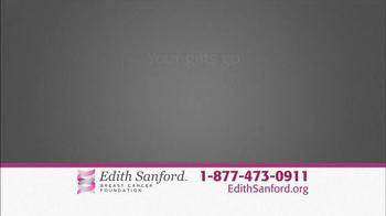 Edith Sanford Breast Cancer Foundation TV Spot, 'Stories' - Thumbnail 8