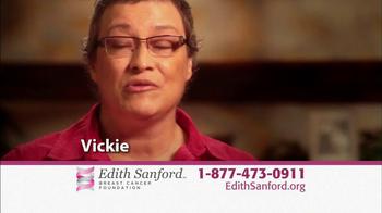 Edith Sanford Breast Cancer Foundation TV Spot, 'Stories' - Thumbnail 9