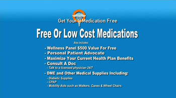 GetYourMedicationFree.com TV Spot - Thumbnail 4