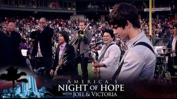 Joel Osteen TV Spot, 'America's Night of Hope' - Thumbnail 3