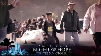 Joel Osteen TV Spot, 'America's Night of Hope' - Thumbnail 4