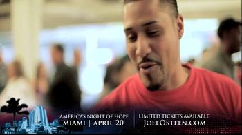 Joel Osteen TV Spot, 'America's Night of Hope' - Thumbnail 7