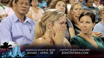 Joel Osteen TV Spot, 'America's Night of Hope' - Thumbnail 8