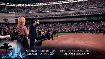 Joel Osteen TV Spot, 'America's Night of Hope' - Thumbnail 9