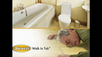 Jacuzzi Walk-In Tub TV Spot Featuring Ross McGowan - Thumbnail 3