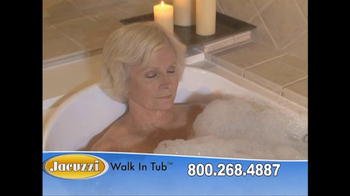 Jacuzzi Walk-In Tub TV Spot Featuring Ross McGowan - Thumbnail 8