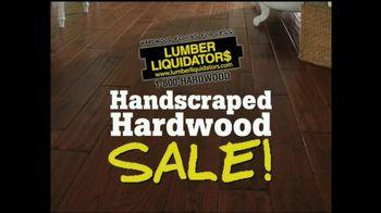 Lumber Liquidators Handscraped Hardwood Sale TV Spot