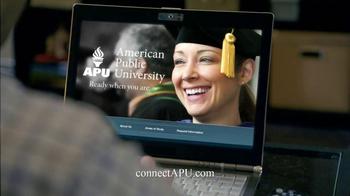 American Public University TV Spot, 'Cafe' - Thumbnail 8