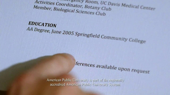 American Public University TV Spot, 'Cafe' - Thumbnail 2
