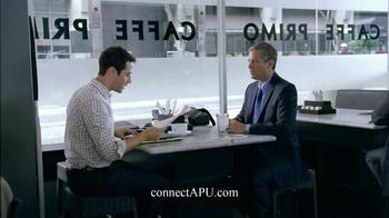 American Public University TV Spot, 'Cafe'