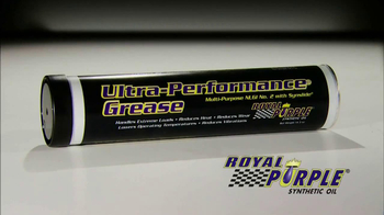 Royal Purple Ultra-Performance Grease TV Spot
