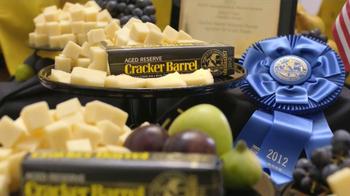 Cracker Barrel Aged Reserve TV Spot, 'World Championship Cheese Contest' - Thumbnail 3