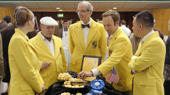 Cracker Barrel Aged Reserve TV Spot, \'World Championship Cheese Contest\'