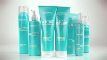 John Frieda Luxurious Volume TV Spot, 'Finally Love Fine Hair' - Thumbnail 10