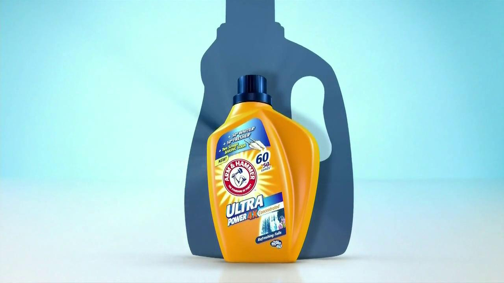 Arm and Hammer Ultra Power 4X TV Commercial, 'Laundry Secret'