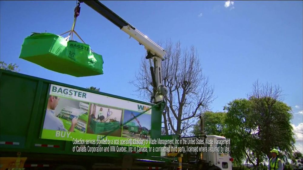 Waste Management Bagster Bag Tv Commercial Plan For The Cleanup