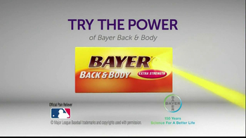 Bayer Back & Body TV Spot, 'Comparison' - Thumbnail 10