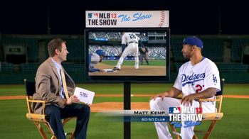 MLB 13: The Show TV Spot Featuring Matt Kemp - 95 commercial airings