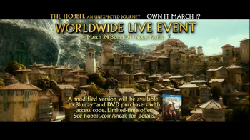 The Hobbit: An Unexpected Journey Blu-ray and DVD TV Spot - Thumbnail 9