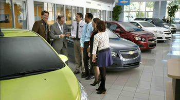 2013 Chevrolet Cruze LS TV Spot, 'MPG Enginuity' - 94 commercial airings