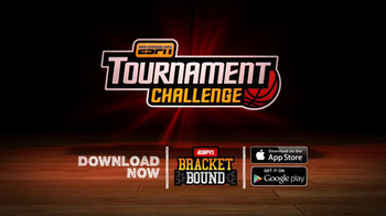 ESPN Tournament Challenge App TV Spot