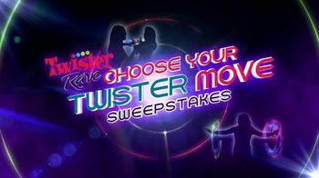 Twister Rave Choose Your Twister Move Sweepstakes TV Spot, 'Favorite Move!'