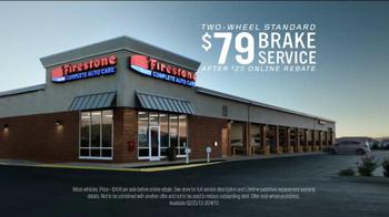 Firestone Complete Auto Care Brake Service TV Spot, 'There They Go' - Thumbnail 5