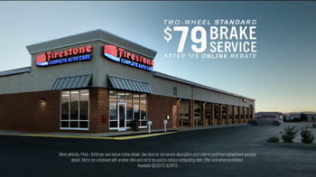 Firestone Complete Auto Care Brake Service TV Spot, 'There They Go' - Thumbnail 3
