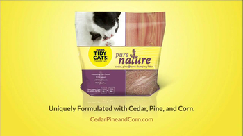 Tidy Cats Pure Nature Litter TV Spot, 'Nose Cover' - Thumbnail 10