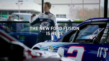 NASCAR TV Spot, 'Ford Fusion' Featuring Brad Keselowski - Thumbnail 9