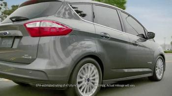 Ford C-Max Hybrid TV Spot, 'More Space' - Thumbnail 9
