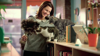 Purina Cat Chow Healthy Weight TV Spot, 'Bookstore' - Thumbnail 3