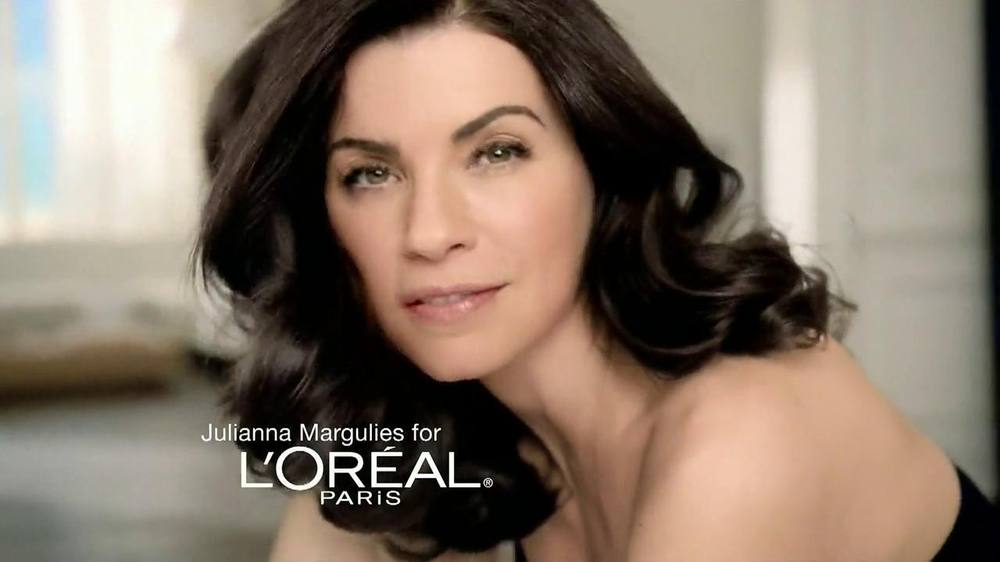 L'Oreal Excellence Creme Black Richesse TV Commercial Feat. Julianna Margulies