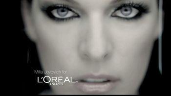 L'Oreal Voluminous False Fiber Lashes TV Spot Featuring Milla Jovovich