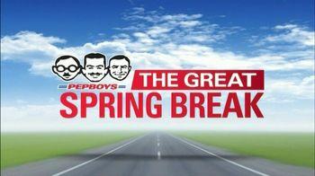 PepBoys The Great Spring Break TV Spot, 'Break Services' - Thumbnail 1