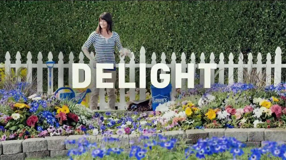 lowes tv commercial gardening ispottv - Lowes Garden