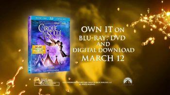 Cirque du Soleil: Worlds Away Blu-ray and DVD TV Spot