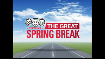 PepBoys The Great Spring Break TV Spot, 'Tires' - Thumbnail 10