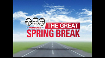 PepBoys The Great Spring Break TV Spot, 'Tires'